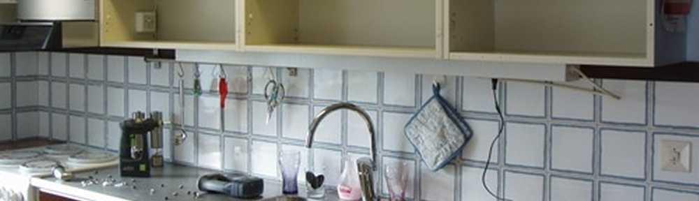 Köksluckor och köksrenovering